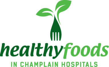 Healthy Foods in Champlian Health Logo